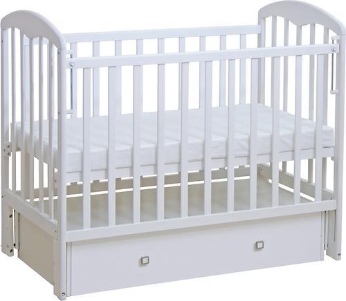 Кроватка детская ФЕЯ 328 белая (4)
