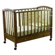 Кроватка детская Фея 600 Темный мед