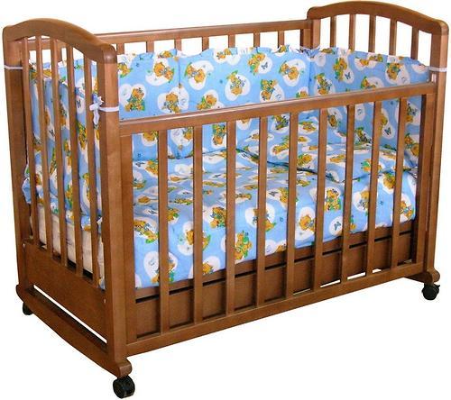 Кровать детская Фея 603 Тёмный мёд (1)