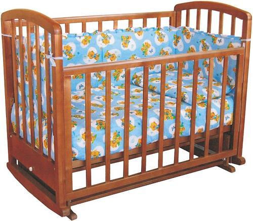 Кровать детская Фея 610 Тёмный мёд (1)