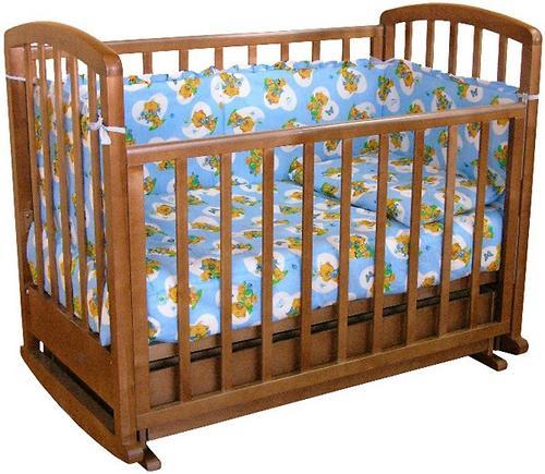 Кровать детская Фея 611 Тёмный мёд (1)