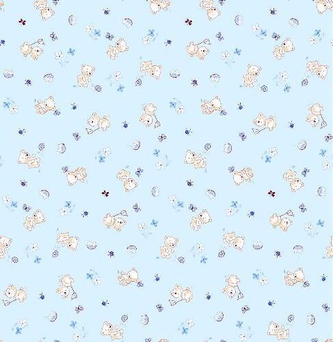 Комплект белья Фея Мишки, 3 предмета, Голубой (7)