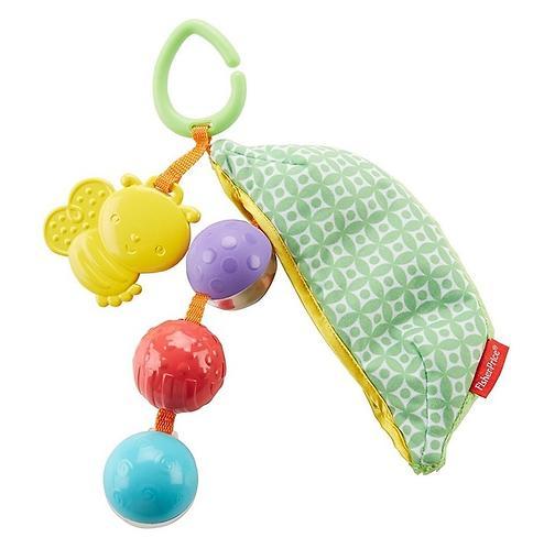Плюшевая игрушка-погремушка Fisher-Price Горошек (5)