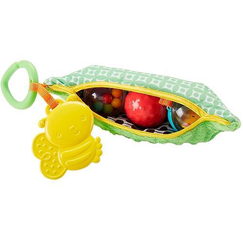 Плюшевая игрушка-погремушка Fisher-Price Горошек (6)