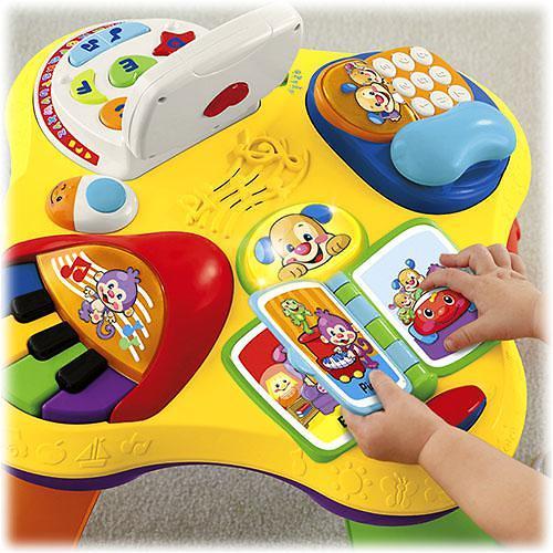 Игрушка Fisher Price Смейся и учись Обучающий столик (10)