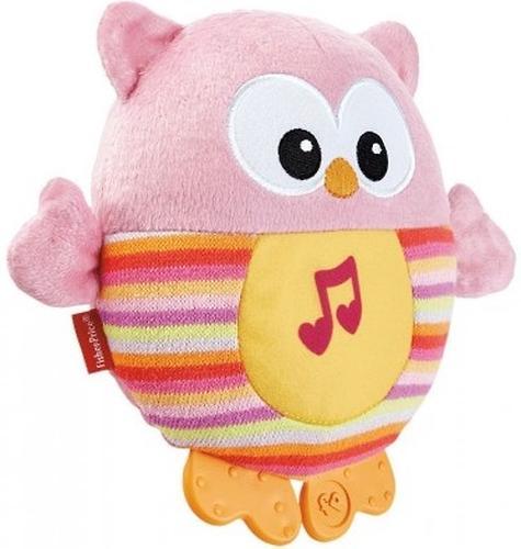 Музыкальный ночник Fisher-Price Розовая Сова (6)