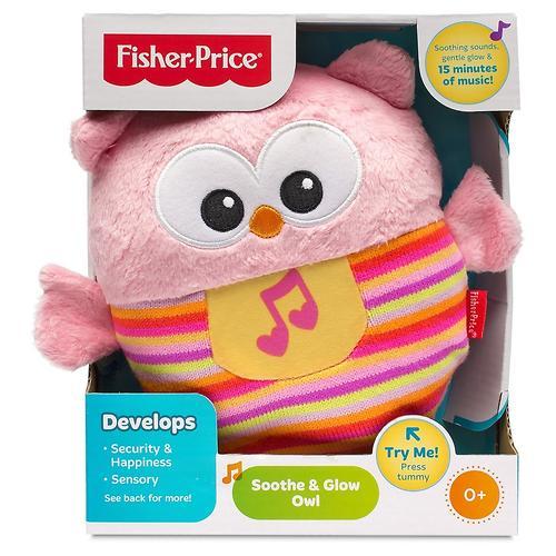 Музыкальный ночник Fisher-Price Розовая Сова (7)