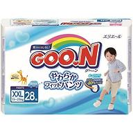 Подгузники-трусики Goon для мальчиков BigBig XXL 13-25кг 28шт