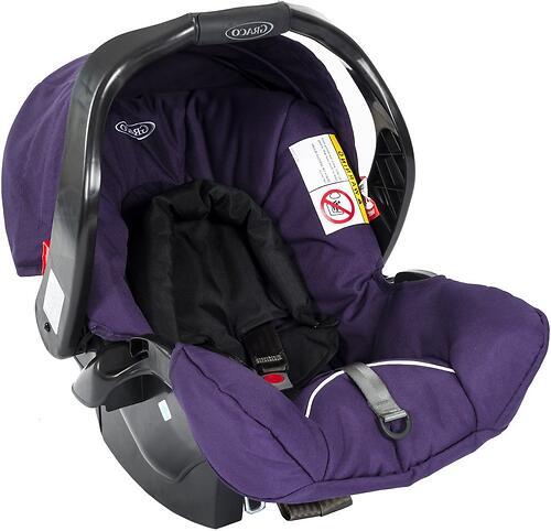 Автокресло Graco Junior Baby Purple Shadow (1)