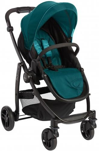 Коляска 3в1 Graco EVO Trio Harbor Blue (7)