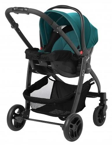 Коляска 3в1 Graco EVO Trio Harbor Blue (8)