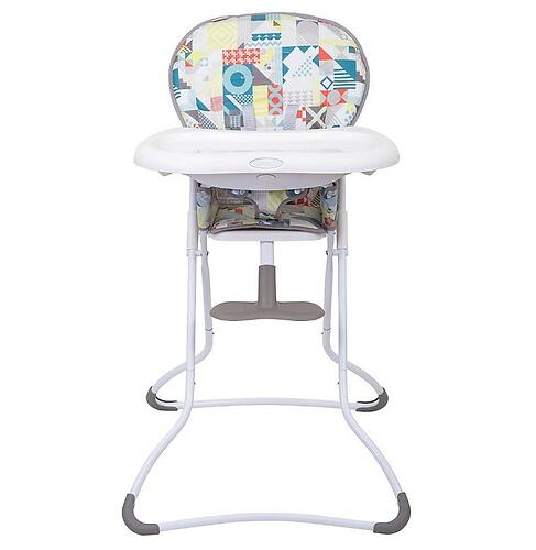 Стульчик Graco Snack n Stow Patchwork Grey (5)