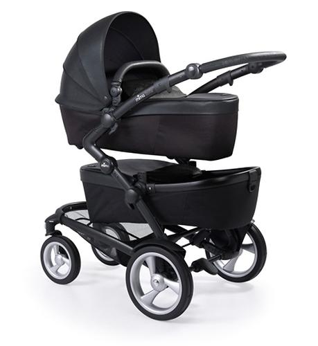 Коляска для двойни/погодок Mima KOBI TWIN Black (7)