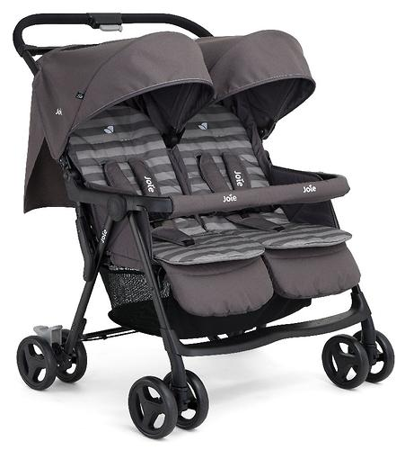 Коляска прогулочная Joie Aire Twin Dark Pewter (9)