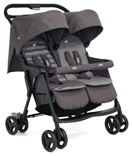 Коляска прогулочная Joie Aire Twin Dark Pewter (11)