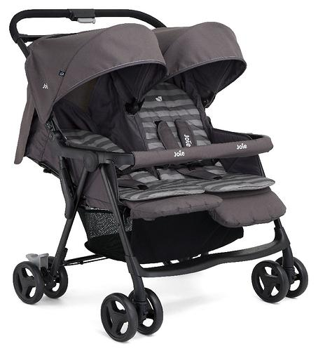 Коляска прогулочная Joie Aire Twin Dark Pewter (12)