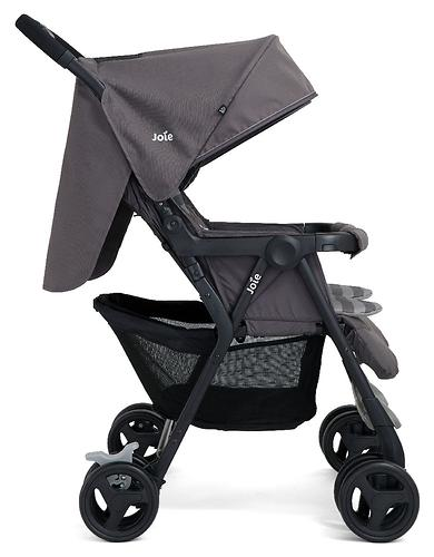 Коляска прогулочная Joie Aire Twin Dark Pewter (13)
