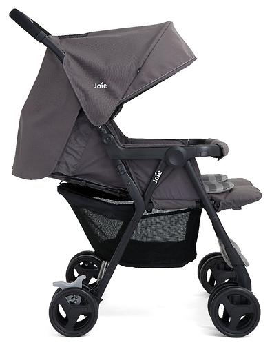 Коляска прогулочная Joie Aire Twin Dark Pewter (14)