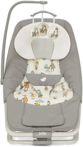 Шезлонг Joie Soother Dreamer Petite City (9)