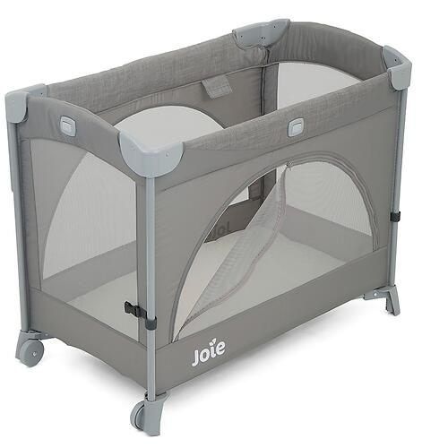 Манеж Joie Kubbie Sleep Foggy Gray (12)