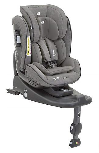 Автокресло Joie Stages Isofix Foggy Gray (7)