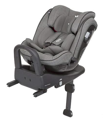 Автокресло Joie Stages Isofix Foggy Gray (8)
