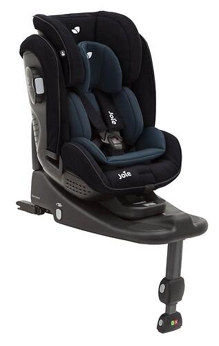 Автокресло Joie Stages Isofix Navy Blazer (5)