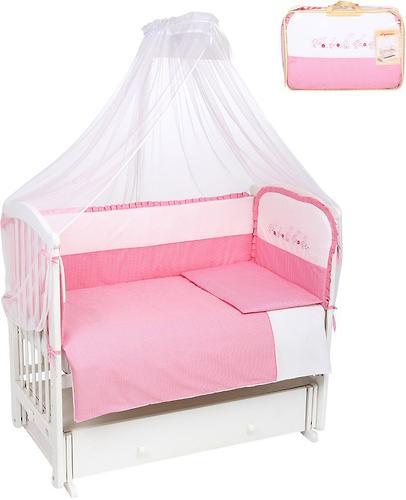 Комплект в кроватку Leader Kids Гусята 7 предметов розовый (1)