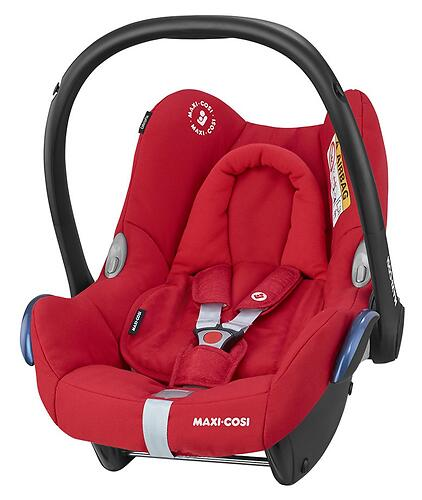 Автокресло Maxi Cosi Cabriofix Nomad Red (5)