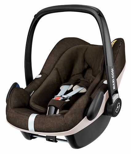 Автокресло Maxi Cosi Pebble+ Nomad Brown (9)