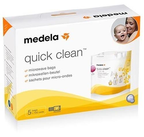 Пакеты для паровой стерилизации в микроволновке MEDELA QUICK CLEAN 5 шт (5)