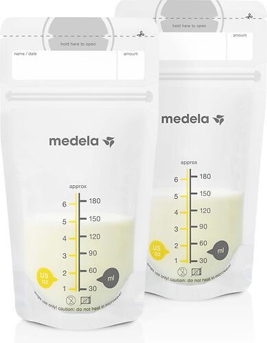 Пакеты Medela для сбора и хранения молока 50 шт (4)