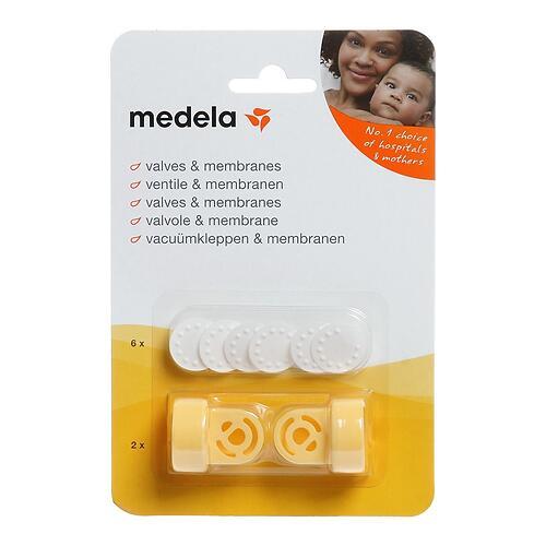 Клапаны и мембраны MEDELA для молокоотсоса (4)