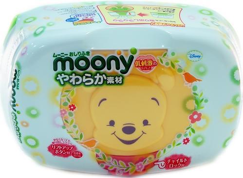 Салфетки Moony Box 80 шт в пластиковом боксе (6)