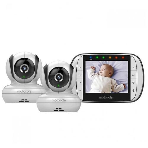 Видеоняняя Motorola MBP36S-2 цифровая беспроводная 2 камеры в комплекте (5)