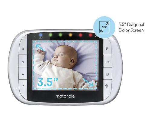 Видеоняняя Motorola MBP36S-2 цифровая беспроводная 2 камеры в комплекте (7)