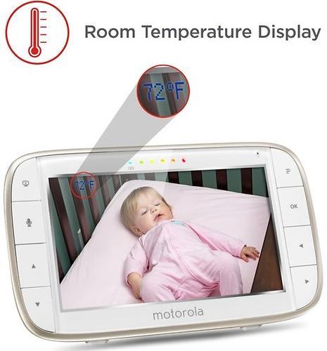 Видеоняня беспроводная Motorola MBP855 Connect с поддержкой Wifi (13)