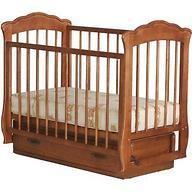 Кроватка Елена Орех с ящиком