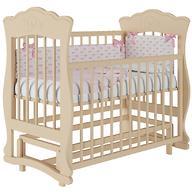Кроватка Елена 2 Слоновая кость без ящика