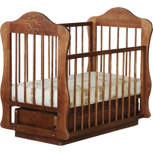 Кроватка Кира Орех (3)
