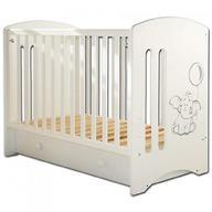 Кровать-манеж Софи 3 cлоновая кость с ящиком Слоник