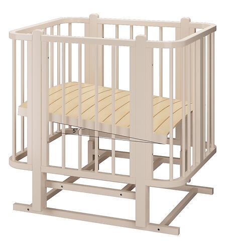 Кровать-трансформер Можгамебель Оливия с комплектом расширения Слоновая кость (15)
