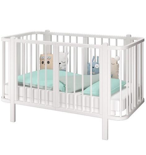 Кровать-трансформер Можгамебель Оливия с комплектом расширения Белая (10)