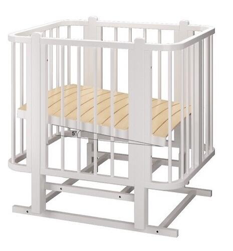 Кровать-трансформер Можгамебель Оливия с комплектом расширения Белая (12)