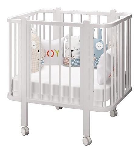 Кровать-трансформер Можгамебель Оливия с комплектом расширения Белая (13)