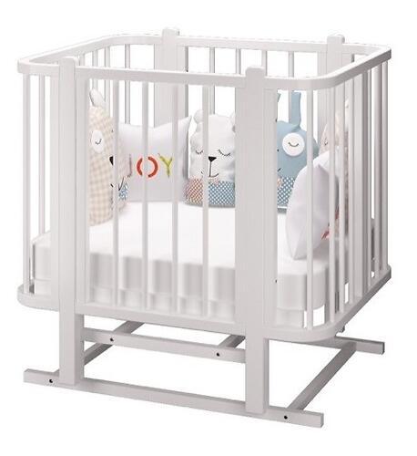 Кровать-трансформер Можгамебель Оливия с комплектом расширения Белая (15)