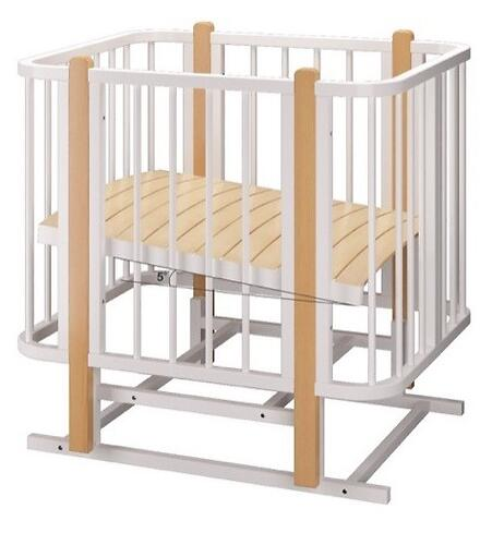 Кровать-трансформер Можгамебель Оливия с комплектом расширения Белая-Бук (12)