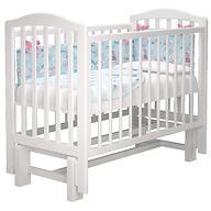 Кроватка Можгамебель Пикколо Белая
