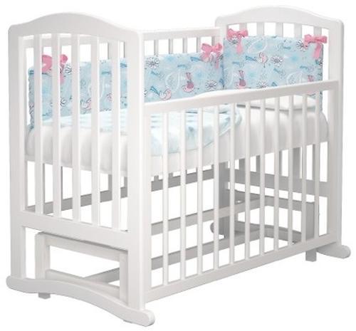 Кроватка Можгамебель Пикколо Белая (8)