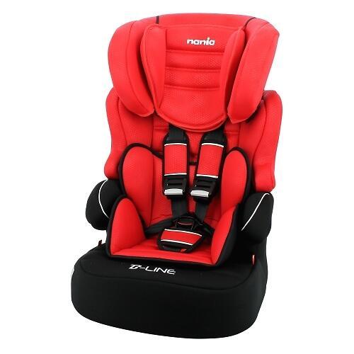 Автокресло Nania Beline SP Luxe Red (3)
